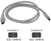 Cables To Go 3-Foot IEEE-1394 6-pin Male/Male FireWire Cable -- 16990