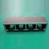 Input-Output Connectors, Modular Jack Series, Modular Jack, Multiple Port, # Contacts/ Port (Loaded)=32 -- 10118065-1001010LF - Image