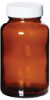 APC3240 - Environmental Express Glass Bottles, Level 3, Packer, Amber, 125 mL; 24/Cs -- GO-35204-17