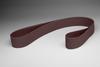 3M 241E Coated Aluminum Oxide Sanding Belt - 100 Grit - 1/4 in Width x 24 in Length - 32407 -- 051144-32407 - Image