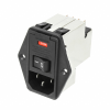 Power Entry Connectors - Inlets, Outlets, Modules -- 1-6609929-5-ND - Image