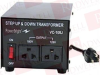 POWER BRIGHT VC100J ( 100W STEP UP AND STEP DOWN TRANSFORMER WITH POWER ON/OFF SWITCH ) -Image
