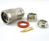 N Male Connector Clamp/Solder Attachment For RG8, RG9, RG11 Cable -- SC9171 -Image