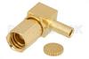 SSMC Plug Right Angle Connector Solder Attachment for PE-047SR, PE-SR047AL, PE-SR047FL -- PE45385 -Image