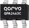 50 - 4000 MHz Active Bias Cascadable SiGe HBT Amplifier -- QPA2463C -Image