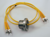 Coaxial Cable Connector Hermetic Feedthrus -- 25321 - Image