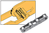 Bearing Bush Double Pitch Chain Attachment Series