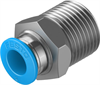 QS-3/8-8 Push-in fitting -- 153006