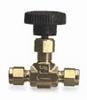 4A-V4LN-B - Parker needle valve; 1/4