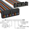 Rectangular Cable Assemblies -- A3DKB-3006M-ND -Image