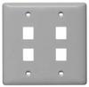 Datacommunication Face Plate -- NSP24GY - Image