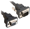 Cables to Go Panel Mount - VGA extension cable - HD-15 (M) - -- 52104