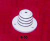 Steatite Base Type Corrugated Insulator -- 6-55