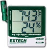 Big Digit Remote Probe Hygro-Thermometer -- 445715