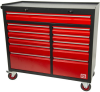 11 Drawer Wheeled Steel Cabinet -- 833-5916 - Image