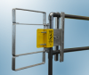 Extended Coverage Self-Closing Safety Gate -- XL Series - Stainless Steel