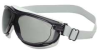 Safety Goggle,Gray Lens,Fabric Strap -- 24C253