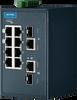8 + 2G Combo ports Entry-Level Managed Switch Supporting Modbus/TCP -- EKI-5629C-MB -Image