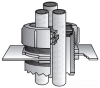 Rigid/EMT Conduit Cabinet Sealing Bushing -- GRK-600