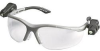 Wraparound Dual Lens w/Light Eyeware Polycarbonate Clear -- 07837162111-1