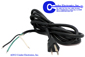 AC  Power Cords -- CA-USG-8FT-3W-S/T-GBW-SJT - Image