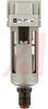 Air Filter; Modular; 150 PSI max; 3/8NPT ports; auto drain (N.O.) -- 70070521