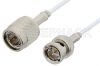 75 Ohm TNC Male to 75 Ohm BNC Male Cable 60 Inch Length Using 75 Ohm RG187 Coax, RoHS -- PE35366LF-60 -Image