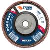 5 Tiger Angled (Radial) Ceramic Flap Disc 60C 5/8-11 Nut -- 51322 -Image