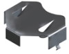 THM Holder for 2450 Cell-Tin Nickel Plate -- 3009