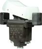 TP Series Rocker Switch, 1 pole, 2 position, Screw terminal, Flush Panel Mounting -- 1TP201-3 - Image