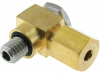 "1/8"" OD Tubing Compression, M6 thread, symmetrical ferrule -- M6CBL-1018 -- View Larger Image"
