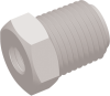 Commercial Grade Thread Reducing Straight Connector -- AP032518R2528P