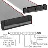 Rectangular Cable Assemblies -- A3BKB-4018G-ND -- View Larger Image