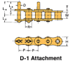 BS/DIN Chain Attachment Series -- RS08B D-1 - Image