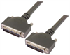 Heavy Duty D-sub Cable, DB25 Male / Male, 1.0 ft -- DSA00027-1F - Image