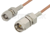 SMA Male to SMC Plug Cable 60 Inch Length Using RG178 Coax, RoHS -- PE3561LF-60 -Image