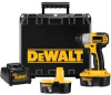 DEWALT 18-Volt 1/4 In. (6.4mm) Cordless Impact Driver Kit -- Model# DC825KA