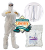 Kimberly-Clark Kimtech Pure A5 White Universal Disposable Cleanroom Boot Cover - FS 209, ISO Class 5, ISO Class 6, ISO Class 7, ISO Class 8 Rating - 036000-88808 -- 036000-88808