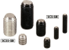 Clamping Screw - Indented Ball - with Reversal Protection Mechanism -- SCSS-GB