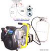 Triple-Fuel (LP Gas, Natural Gas & Gasoline) 2.8 kW Gen
