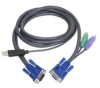 Aten 6-Foot PS/2 to USB Intelligent KVM Cable -- 2L5502UP
