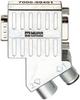M12/D-Sub Profibus Adapter 35° M12 male B-cod./M12 female B-cod. -- 7000-99401-0000000