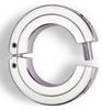 Metric Stainless Steel Hinge Clamp-Type Collars -- 2SM009H - Image