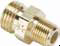Hose Barb Fittings -- Ball-End Joint Adapter to Male Pipe 127HB