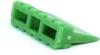 Molex 93447-6003 12 Circuit Receptacle Wedgelock Terminal, Position Assurance (TPA) Retainer, Green -- 38445 -Image