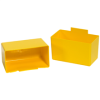 "3 1/4"" x 1 3/4"" x 3"" Yellow - Shelf Bin Cups -- BINC313Y"