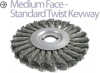 Knotted Wire Wheel Brush -- B-464