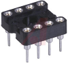 Socket, DIP;8Pins;Low Profile;Closed;Solder Tail;0.3In.;Gold;Thru Hole;SMD;0.125 -- 70206586 - Image