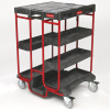 Rubbermaid Ladder Carts -- 9761