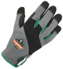 Ergodyne ProFlex Tena-Grip 710TX Gray/Black/Green Small EVA Foam Full Fingered Work & General Purpose Gloves - 720476-17132 -- 720476-17132